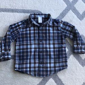 Like new Janie and Jack dress shirt, 18-24 months